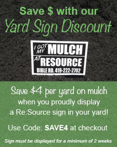 Resource Yard Sign Discount